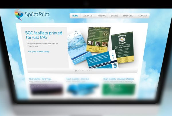 Sprint Print Website