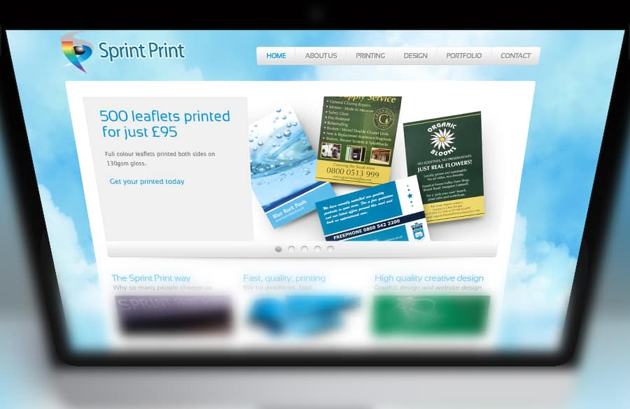 Printers Website Design
