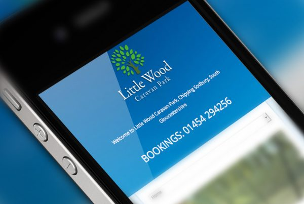littlewood caravan park website design