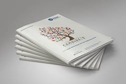 Brochures designed in house