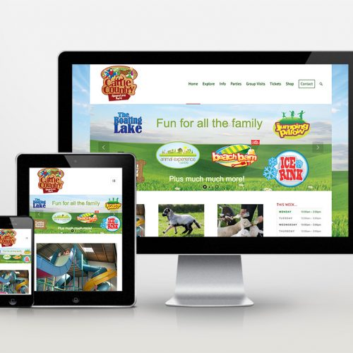 Cattle Country Adventure Park Bristol web design