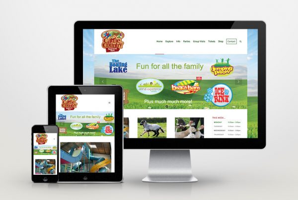 Cattle Country Adventure Park website design